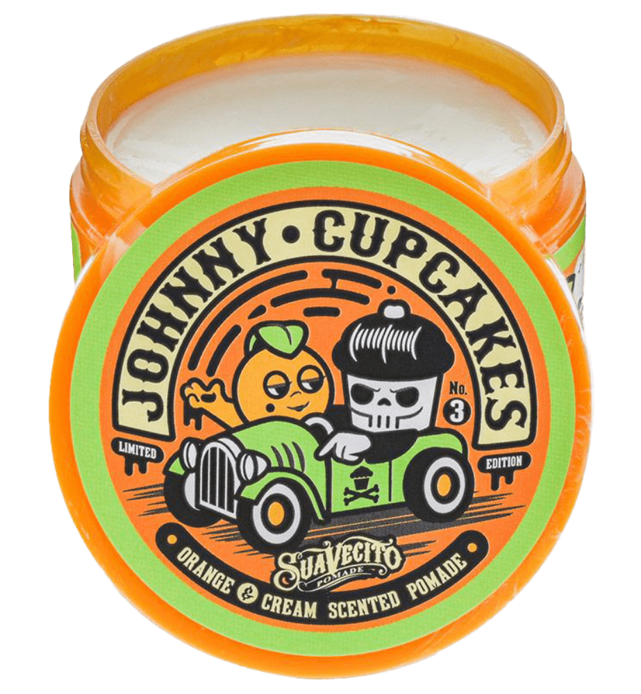 Suavecito X Johnny Cupcakes Firme (Strong) Hold Orange & Cream Pomade - LOCAL FIXTURE