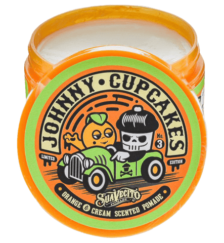 Suavecito X Johnny Cupcakes Original Hold Orange & Cream Pomade - LOCAL FIXTURE