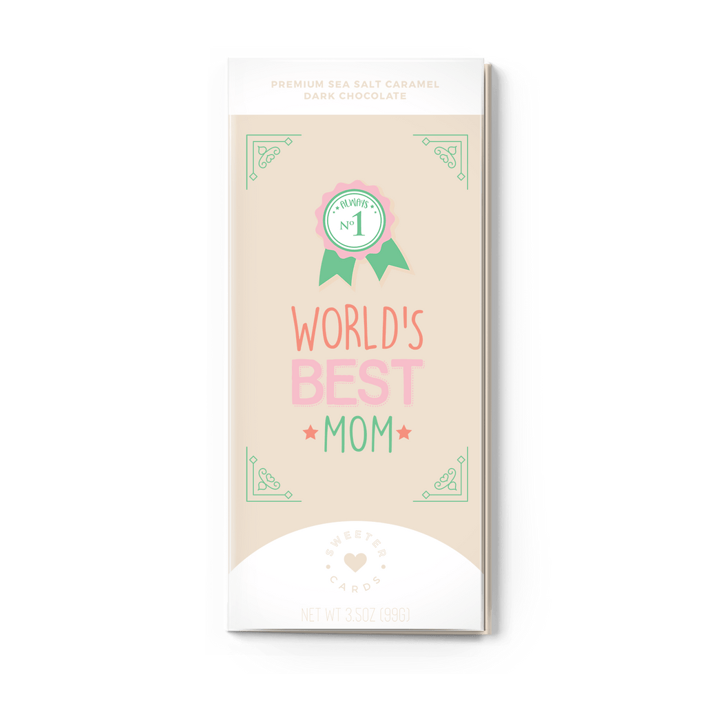 SWEETER CARDS WORLD'S BEST MOM - LOCAL FIXTURE