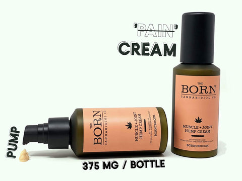 BORN CO. CBD MUSCLE AND JOINT CREAM - LOCAL FIXTURE