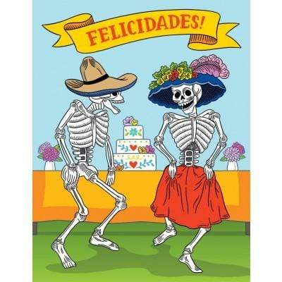 Calacas Wedding Felicidades Card - LOCAL FIXTURE