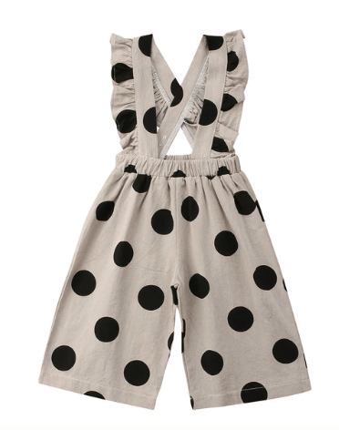 French Riviera Black Polka Dot Jumpsuit - LOCAL FIXTURE