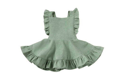 Madison Corduroy  Bib Dress - LOCAL FIXTURE