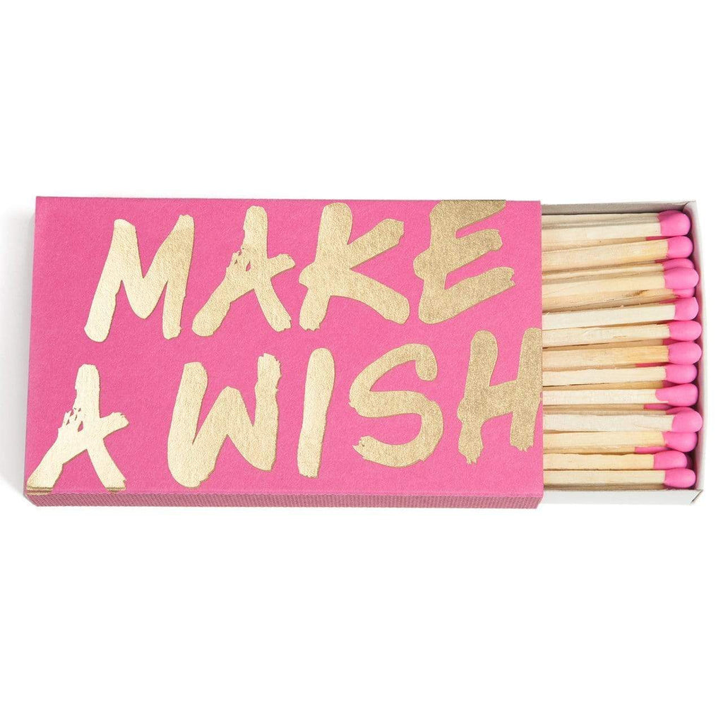 THE SOCIAL TYPE MAKE A WISH MATCHBOX - LOCAL FIXTURE