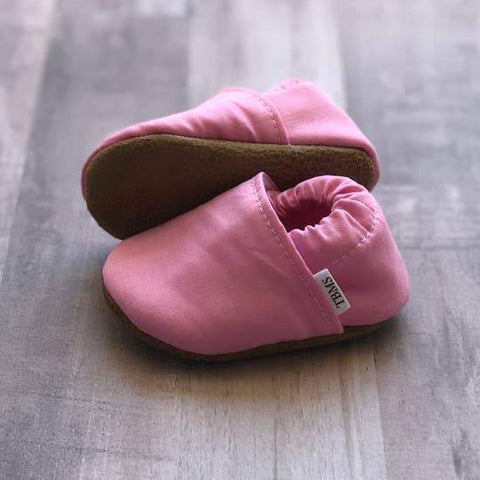 Pink Baby Moccasins - LOCAL FIXTURE