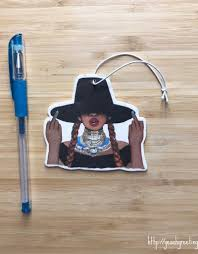 YEAOH GREETINGS BEYONCE AIR FRESHENER - LOCAL FIXTURE