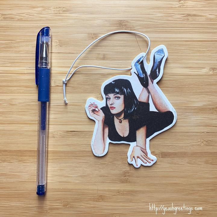 YEAOH GREETINGS MIA WALLACE AIR FRESHENER - LOCAL FIXTURE