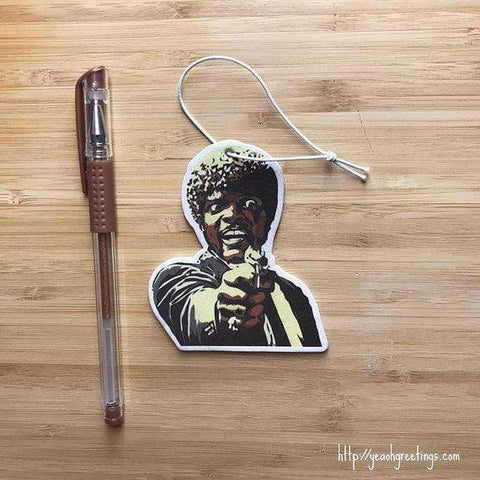 YEAOH GREETINGS Pulp Fiction Air Freshener - LOCAL FIXTURE