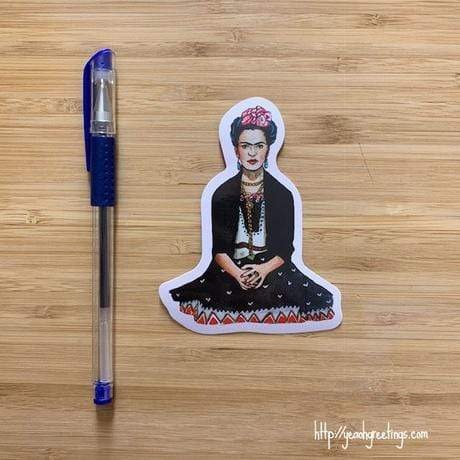 YEAOH GREETINGS Frida Kahlo Sticker - LOCAL FIXTURE