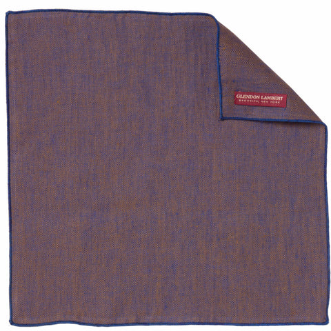LINEN OSTERREICH POCKET SQUARE: PURPLE