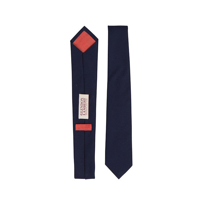 GLENDON LAMBERT  |  Bright Lights Necktie in Navy