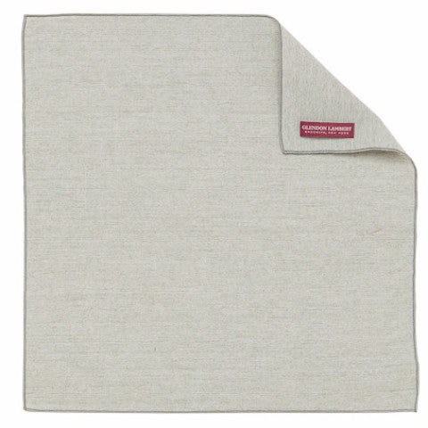 GLENDON LAMBERT | Chambray Handkerchief in Fog Green
