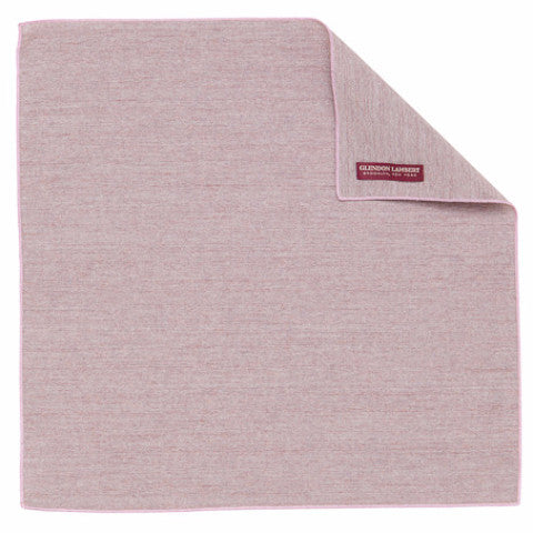 CHAMBRAY HANDKERCHIEF: LILAC