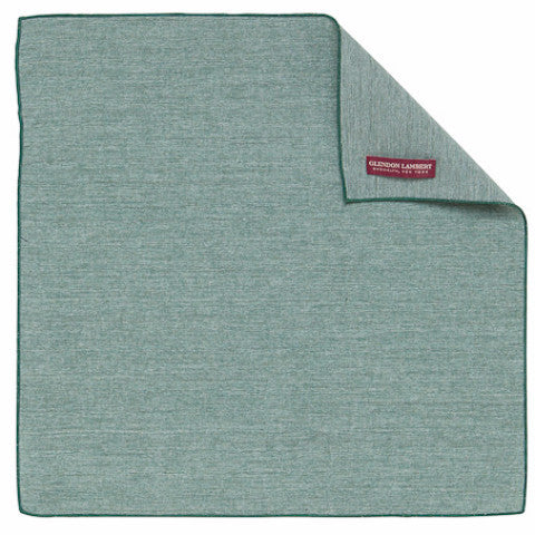 CHAMBRAY HANDKERCHIEF: PINE