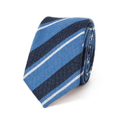 Necktie: Holiday Exclusive Blue Stripes