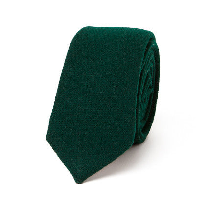 Necktie: Holiday Exclusive—Bright Lights in Hunter Green
