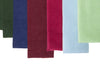 Petit Cord in Tartan, Royal, Maroon, Fuschia, Baby Blue and Lime Green (L-R)
