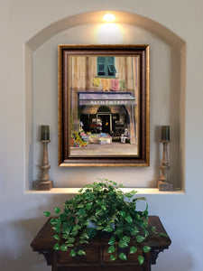 """Alimentari"" FRAMED CANVAS ARTIST SIGNED 24""x 32"""