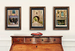 "Load image into Gallery viewer, ""Arch with Wine"" Signed Matted & Framed"