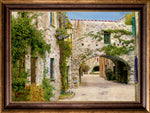 "Load image into Gallery viewer, ""Rock Alleyway"" FRAMED CANVAS ARTIST SIGNED 24""x 32"""