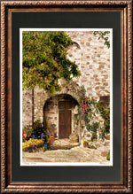 "Load image into Gallery viewer, ""Tuscan Wine"" Signed Matted & Framed"