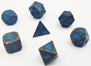 Cold Iron with Blue RPG Set