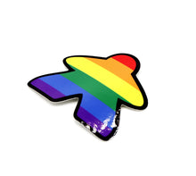 Load image into Gallery viewer, Meeple Sticker: Pride!