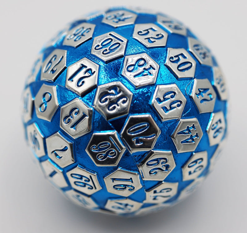 45mm Metal D100 - Blue and Silver