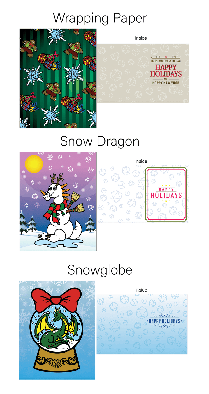 2020 Holiday Cards (9 Pack)
