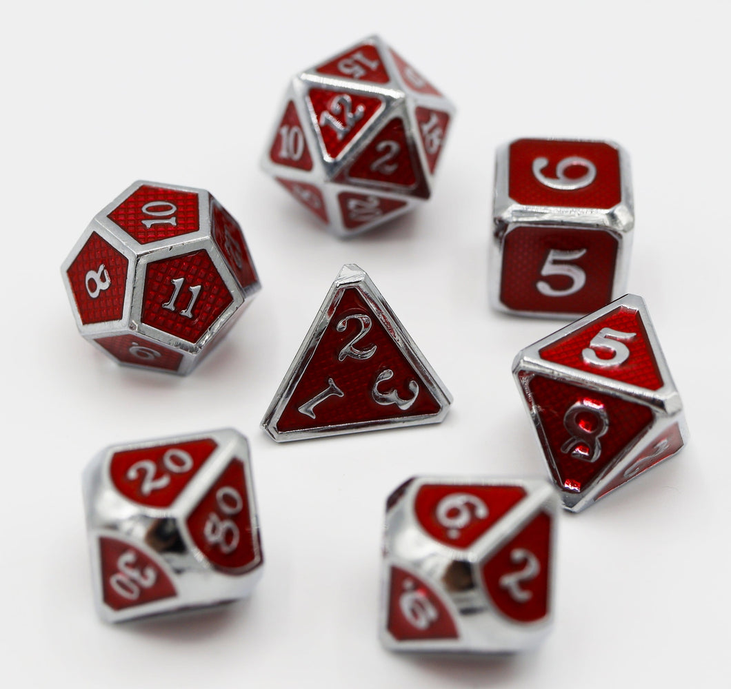 Crimson Mesh RPG Set