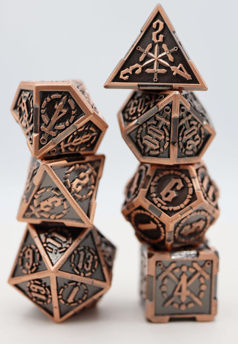 King Arthur's Sword RPG Metal Dice Set