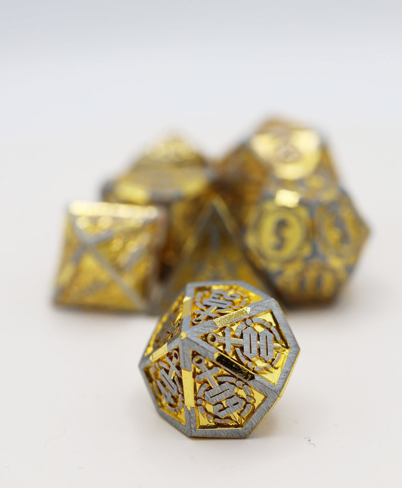 King Slayer's Sword RPG Metal Dice Set
