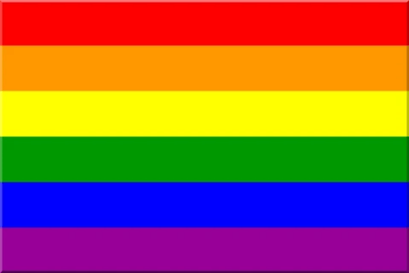 LGBTQ Rainbow Pride Flag 3'x5' with Grommets
