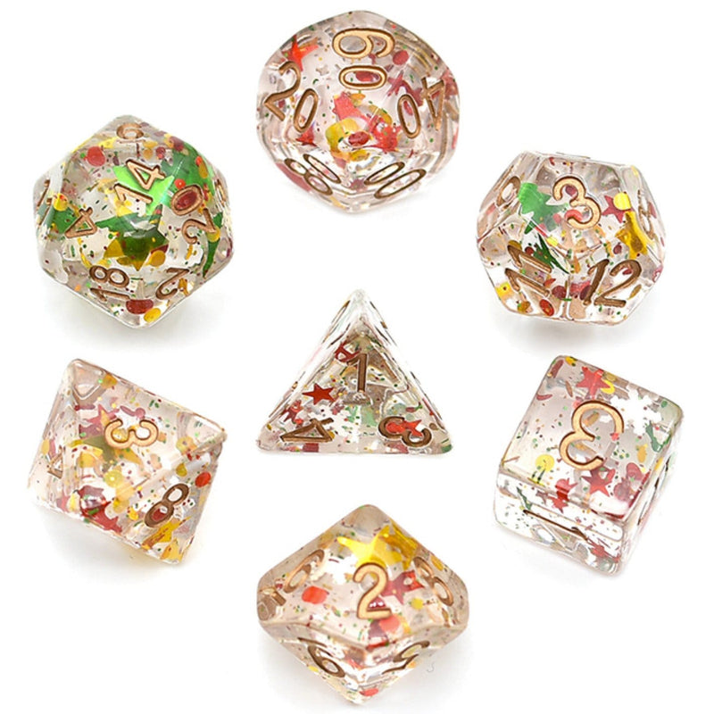Party Foil Fragment RPG Dice