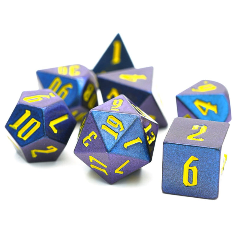 Color Shifting Dice Set - Purple and Blue