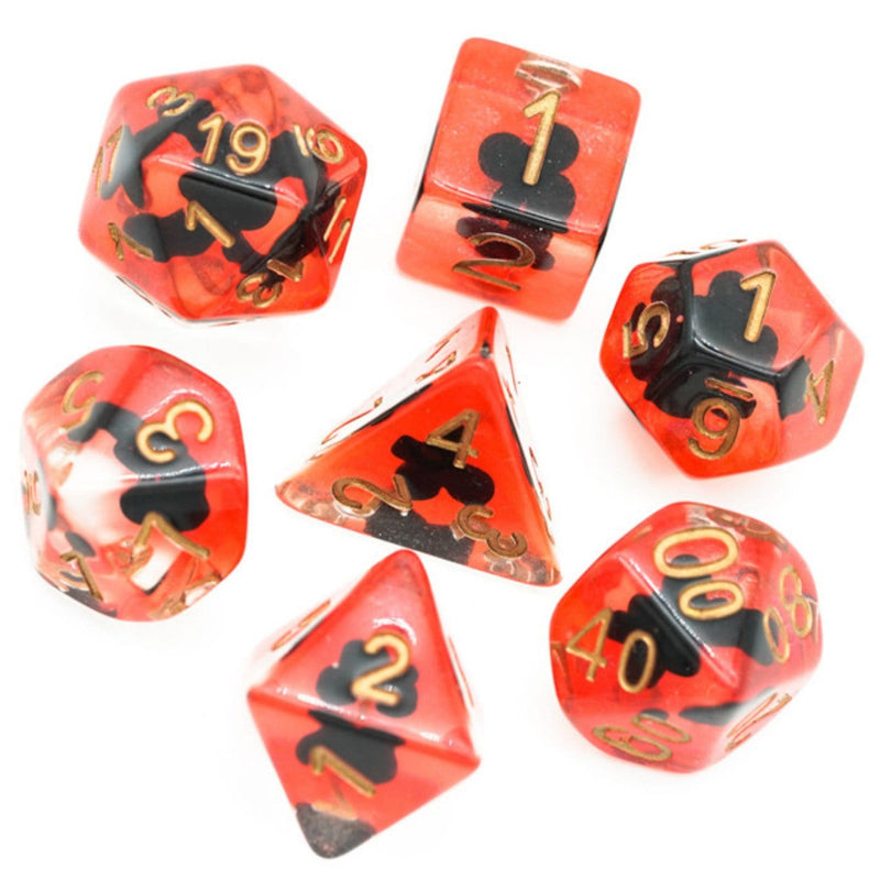 Suit of Dice: Clubs RPG Dice Set