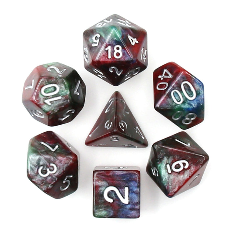 Cosmos Marble RPG Dice Set