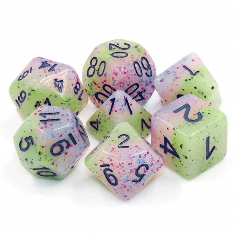 Witch's Robe RPG Dice Set