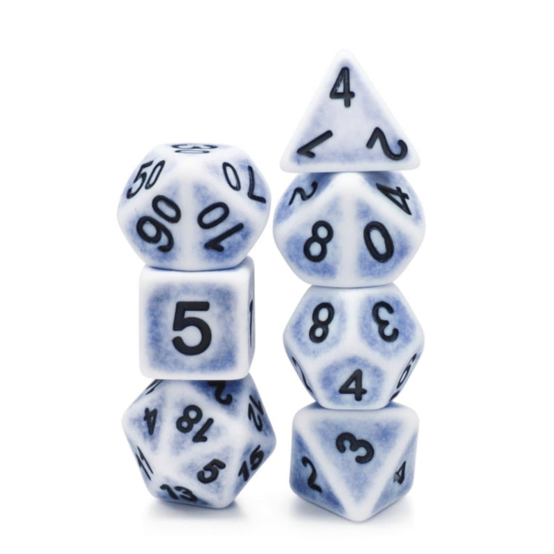 Cerulean Ancient RPG Dice Set