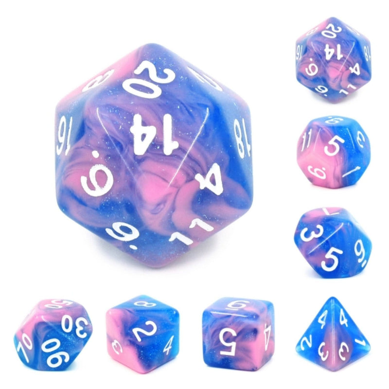 Miami Vice RPG Dice Set