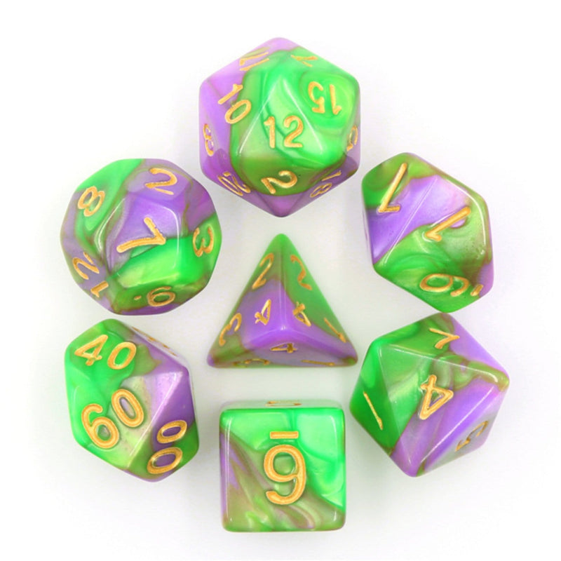 Caterpillar RPG Dice Set