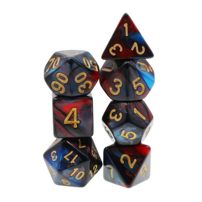 Blue Blood RPG Dice Set
