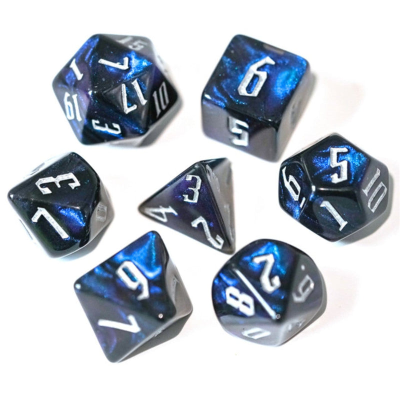 Magician's Dark Night RPG Dice Set