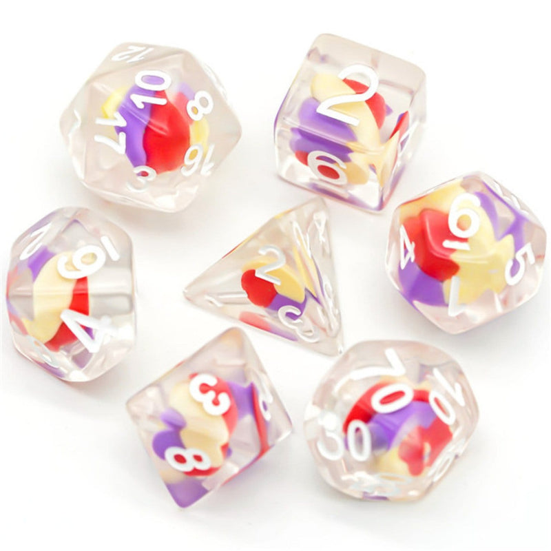 Saffron RPG Dice Set