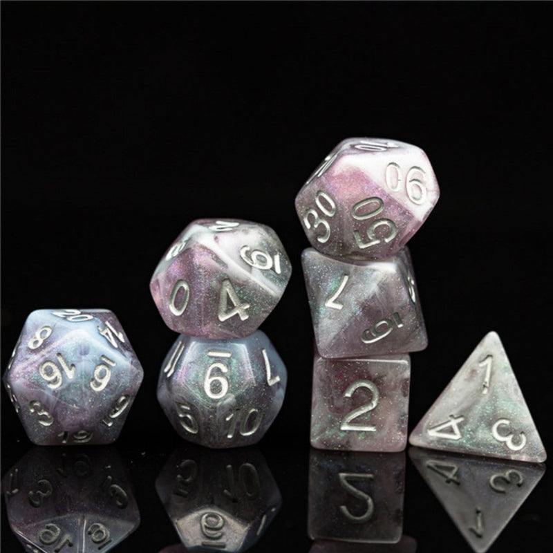 Aurora Borealis RPG Dice Set