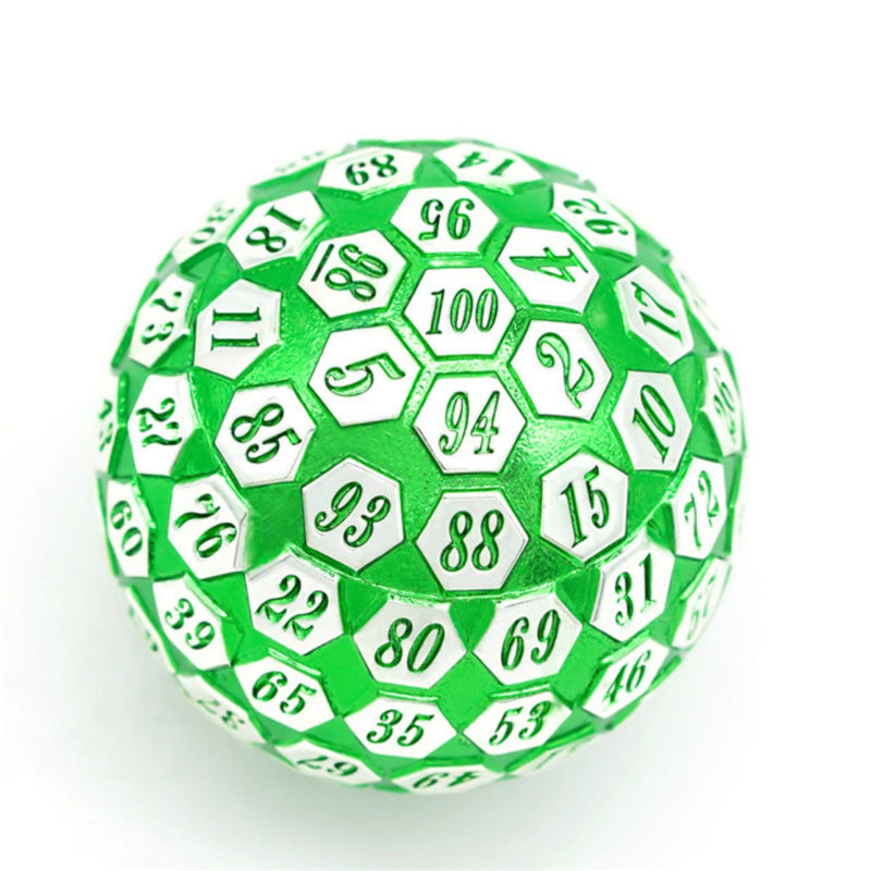 45mm Metal D100 - Green and Silver