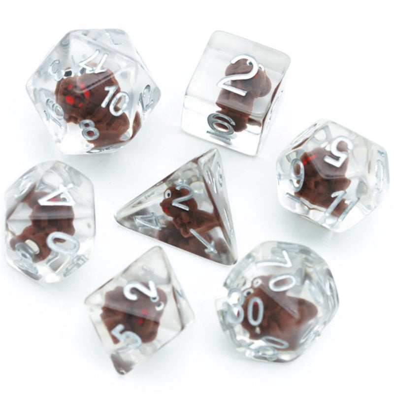 Fluffy Puppy RPG Dice Set