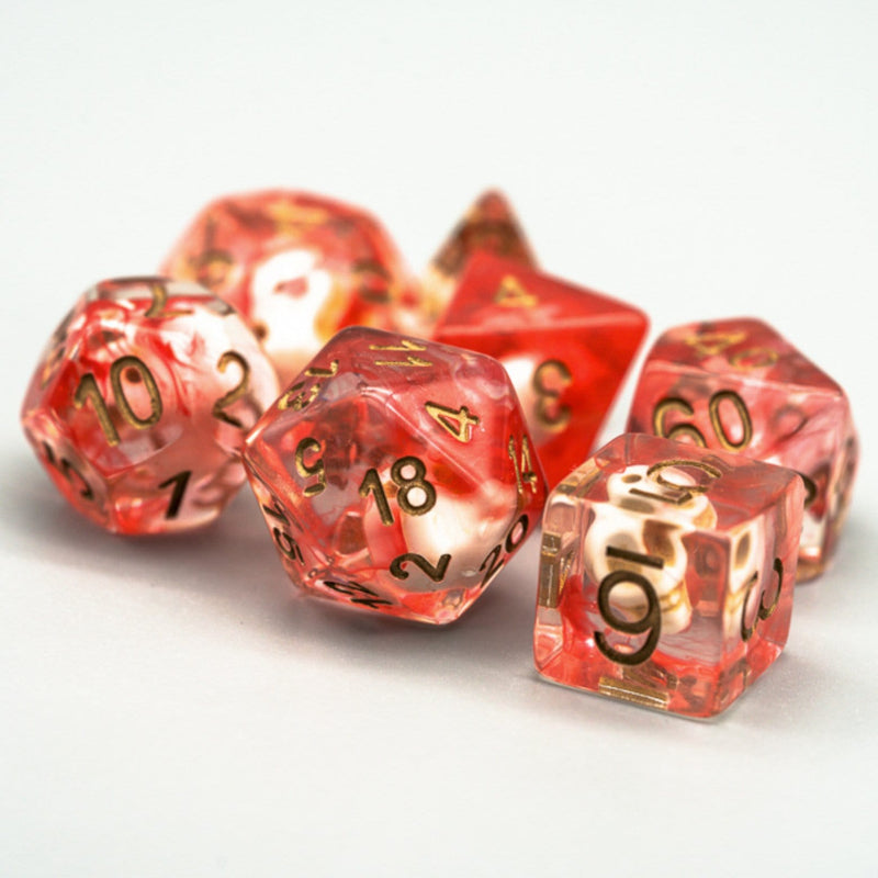 Ghostface Skull RPG Dice Set