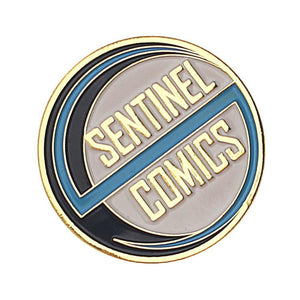 Sentinels of the Multiverse Comics Logo Pin