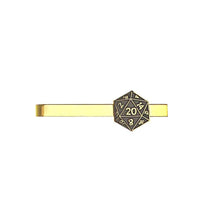 Load image into Gallery viewer, Metal Tie Clip: D20 (Assorted Colors)